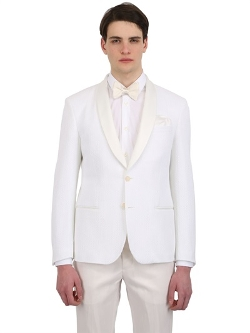 Montezemolo - Cotton Tricot Jersey Evening Jacket