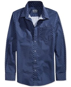 American Rag - Glober Printed Pocket Shirt