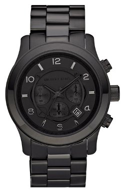 MICHAEL Michael Kors - Blacked Out Chronograph Watch