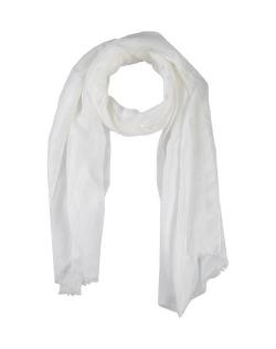 Noir & Blanc - Plain Weave Linen Scarf