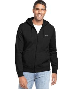 Nike - Sweatshirt, Classic Fleece Full Zip Hoodie