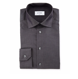 Eton  - Slim-Fit Solid Dress Shirt