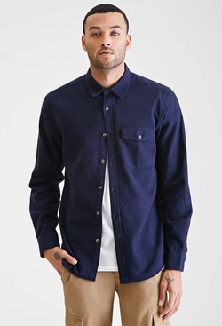 21Men - Flannel Pocket Shirt