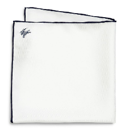 Burberry London  - Edwards Silk Pocket Square