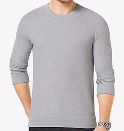 Michael Kors Mens - Cotton Crewneck Sweater