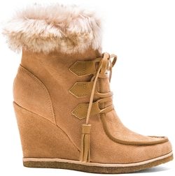 Splendid - Targan Bootie with Faux Fur Cuff