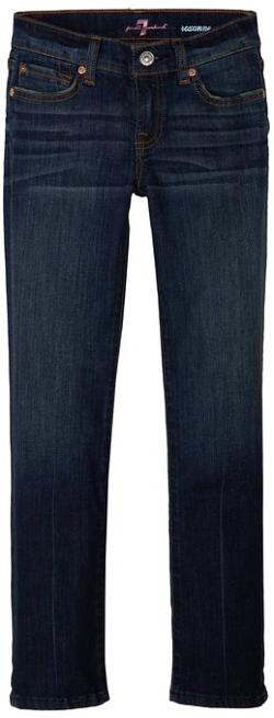 7 For All Mankind  - Girls Roxanne Classic Skinny Fit