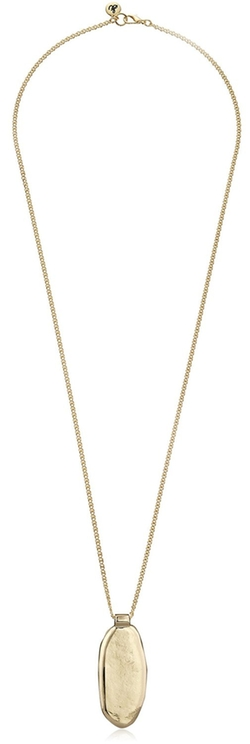 Sam Edelman - Long Oval Pendant Necklace