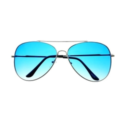 Freyrs Eyewear - Silver Metal Aviator Sunglasses