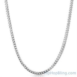 Hip Hop Bling - Miami Franco 316l Stainless Steel Chain