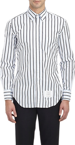 Thom Browne - Stripe Poplin Shirt