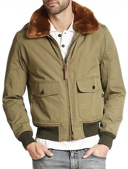 Belstaff  - Moore Faux Fur-Trim Jacket