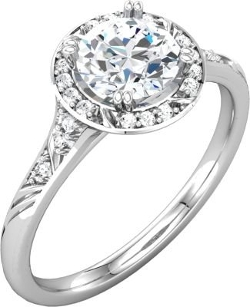 Jewelplus - Sculptural-Inspired Engagement Ring