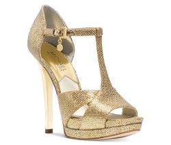 Michael Michael Kors  - Diana T-Strap Platform Sandals