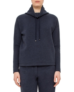 Akris Punto  - Long-Sleeve Funnel-Neck Pullover