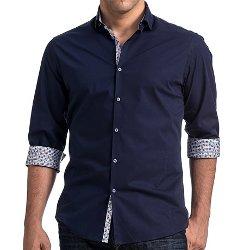 Stone Rose  - Stretch Poplin Shirt