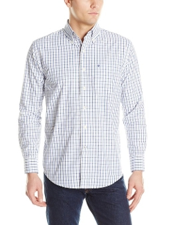 IZOD  - Tattersall Button-Front Shirt