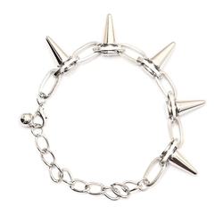 Magic Metal - Spike Studs Chain Bracelet