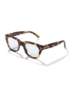 Tom Ford - Large Havana Fashion Glasses