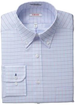 IZOD - Regular Fit Twill Check Shirt