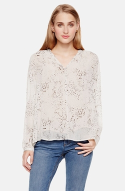Two By Vince Camuto - Del Muses Split Neck Swing Blouse