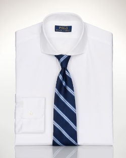 Ralph Lauren - Custom-Fit Spread-Collar Shirt