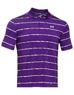 UNDER ARMOUR  - Space Stripe Polo Shirt
