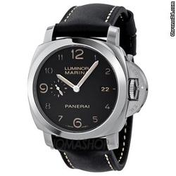Panerai  - Luminora Marina 1950 Black Dial Automatic Mens Watch