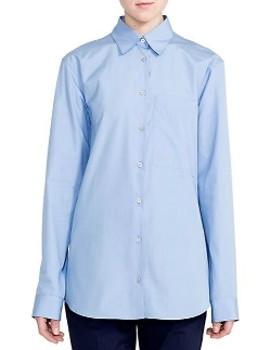 Jil Sander - Terry Button-Down Shirt