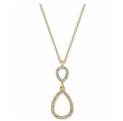 Inc International Concepts - Pavé Teardrop Pendant Necklace
