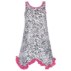 Laura Dare  - Zebra Racerback Nightgown