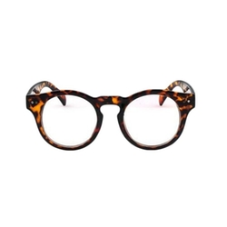 Mono Glasses Frame - Tortoise Shell Round Optical Eyeglass