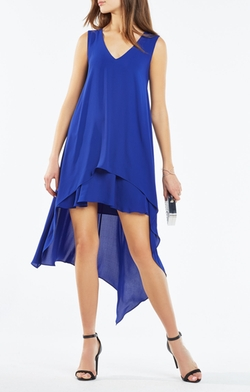 BCBGMAXAZRIA - Kaira Asymmetrical Layered Dress