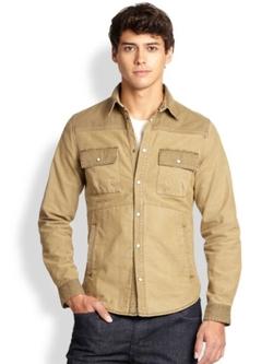 Madison Supply  - Cotton Sportshirt