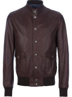 Dolce & Gabbana - Lambskin Bomber Jacket