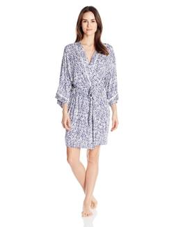 Oscar De La Renta - Luxe Printed Rayon Robe