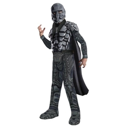 Official Superhero Costumes - Deluxe Muscle Chest General Zod Kids Costume