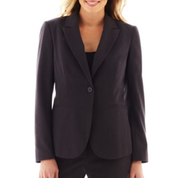 Liz Claiborne - 1-Button Jacket Blazer