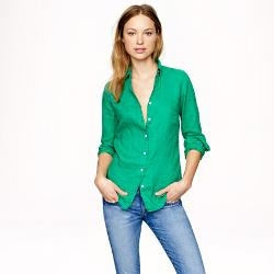 J.Crew - Perfect Shirt in Linen
