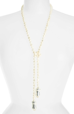 Simon Sebbag  - Potato Pearl Lariat Necklace