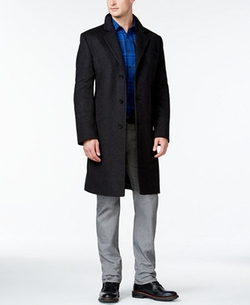 Michael Michael Kors  - Madison Cashmere Blend Overcoat