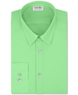 Calvin Klein - Extra Slim Fit Solid Dress Shirt