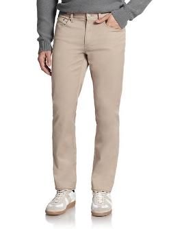 Michael Kors  - Tailored Straight-Leg Jeans