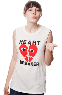 Petals & Peacock - Heart Breaker Tank
