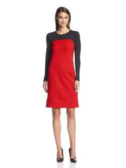 Society New York - Seamed Colorblock Dress