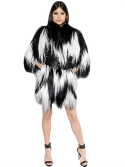 Philipp Plein - Fox Fur Coat