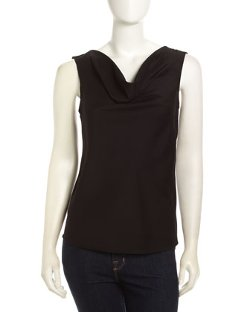 Catherine Catherine Malandrino  - Cowl-Neck Sleeveless Top