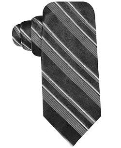 Ryan Seacrest Distinction -  Award Stripe Slim Tie