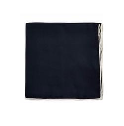 Black Brown 1826 - Silk Solid Pocket Square
