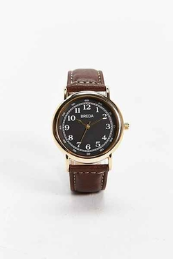 Breda  - Contrast Stitch Watch